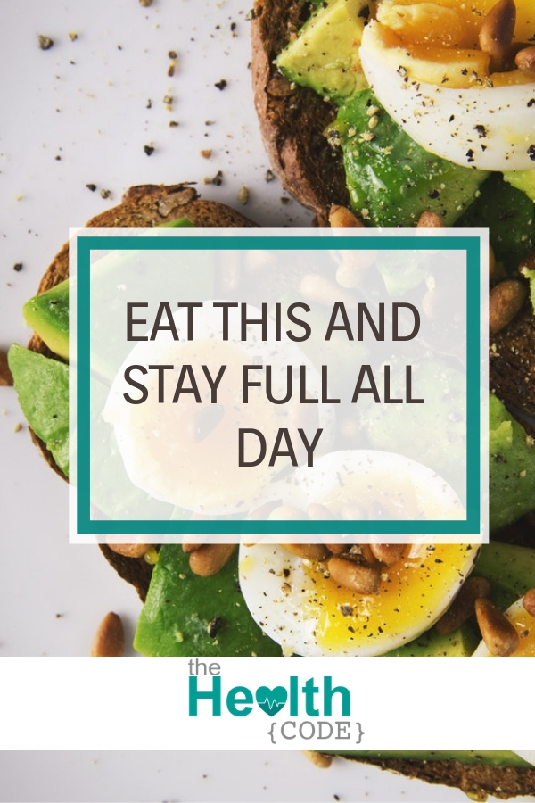 Beat hunger pangs with these nutritious food options that will keep you full all day. #fullerforlonger #healthymeals